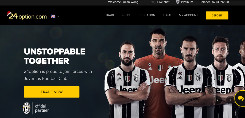 24 Option Juventus Soccer Team