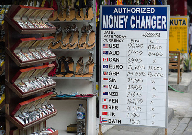 Money Changer Price Board