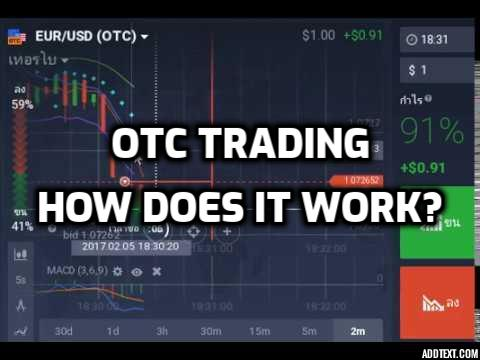 OTC Trading: How Does It Work?